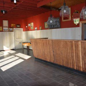 Salle Patria Blanmont - grande salle à louer : buvette d'accueil - Brabant wallon