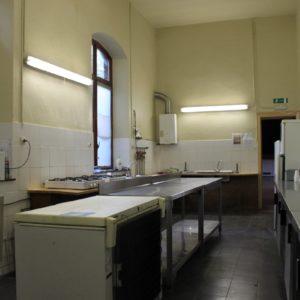 Salle Patria Blanmont - grande salle à louer : la cuisine - Brabant wallon