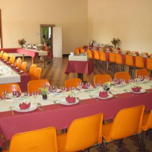 Salle Patria Blanmont - grande salle à louer pour repas - Brabant wallon