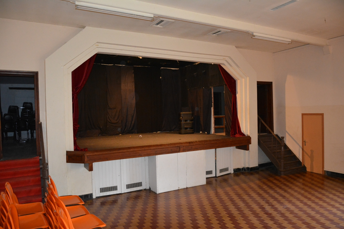 Salle Patria Blanmont - scène pour théâtre, concert, spectacle en Brabant wallon