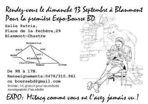 Expo-Bourse BD du 13 septembre 2015