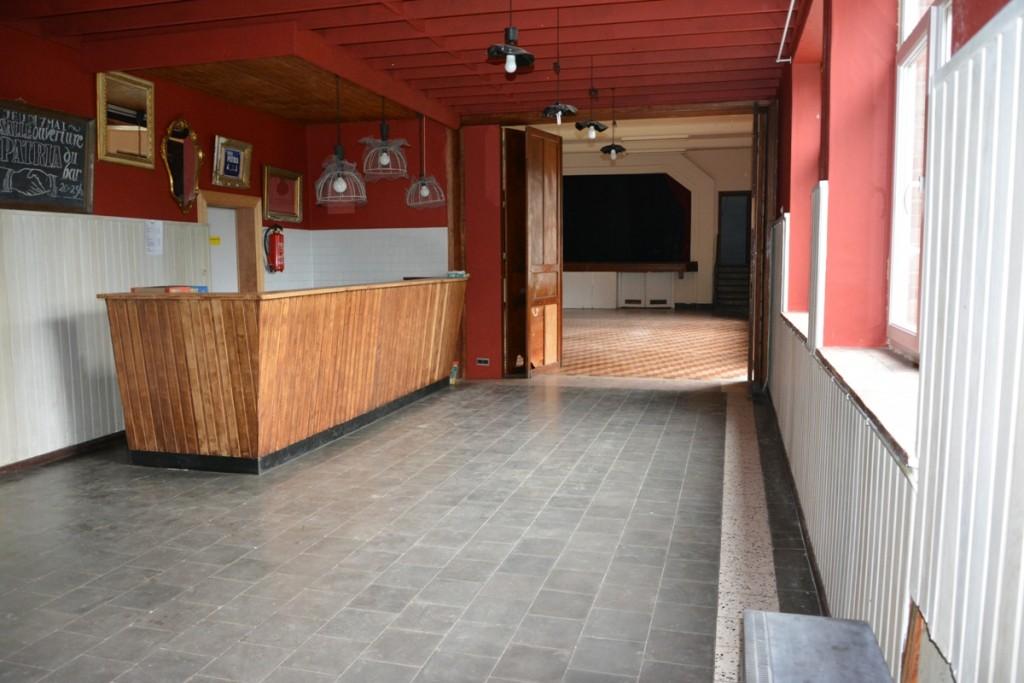 Salle Patria Blanmont - salle à louer avec scène, cuisine et bar - Brabant wallon