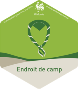 "Label ""Endroit de camp"" de la Région wallonne"
